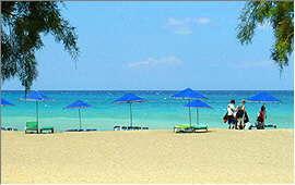 Plakias: Central beach