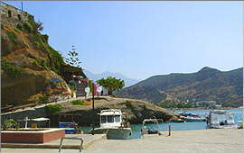 Agia Galini: By the port